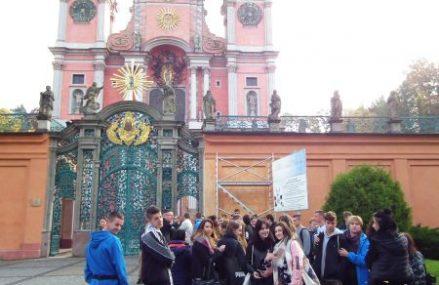 Uczniowie PCE w Świętej Lipce