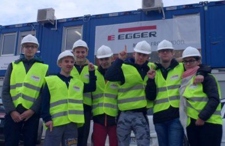 Technicy budownictwa już na budowie :)