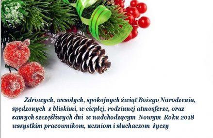 Świąteczne wszystkiego najlepszego!