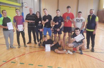 II indywidualny turniej tenisa stołowego o mistrzostwo PCE w Ketrzynie
