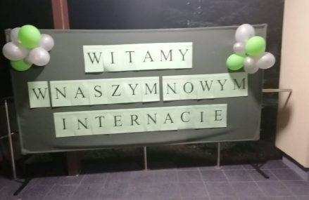 """Nasz """"nowy"""" internat przy Powiatowym Centrum Edukacyjnym już działa!"""
