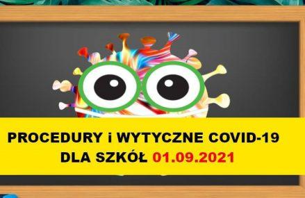 Ogólne zasady dla szkół i placówek w sprawie COVID19